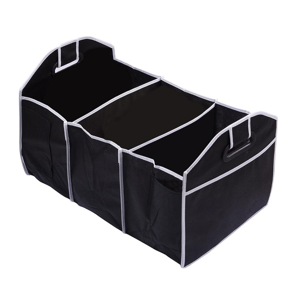 Disney Collapsible Storage Trunk Toy Box Organizer Chest: 1 PCS Black Collapsible Car Trunk Organizer Toys Truck