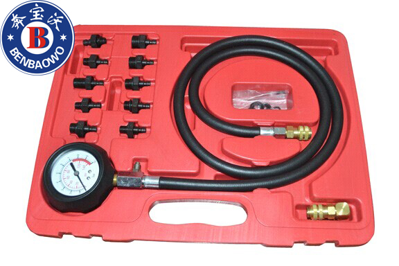 ФОТО Engine Oil Pressure Test Kit Tester Low Oil Warning Devices Car Garage Tool Set
