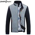2017 New Men Casual Jacket Patchwork Design Jackets Stand Collar mens jackets and coats jaqueta masculina Jacket men Spring wear