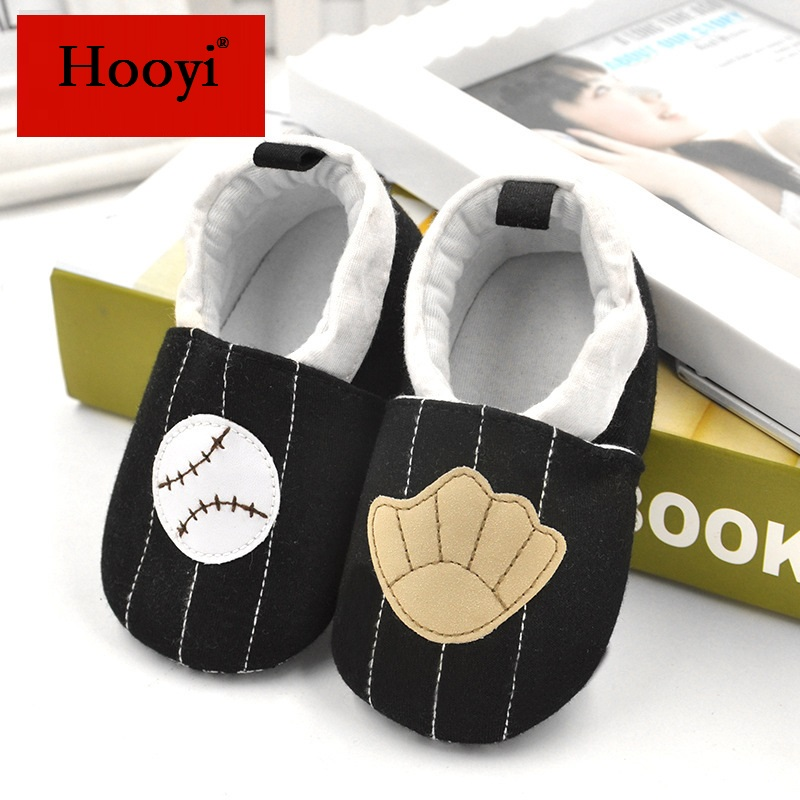Baseball Baby Boy Shoes Anti-Slip Newborn Socks 0-18Month Soft Sole Comfortable Baby Sneakers Bebe Moccasin Cotton