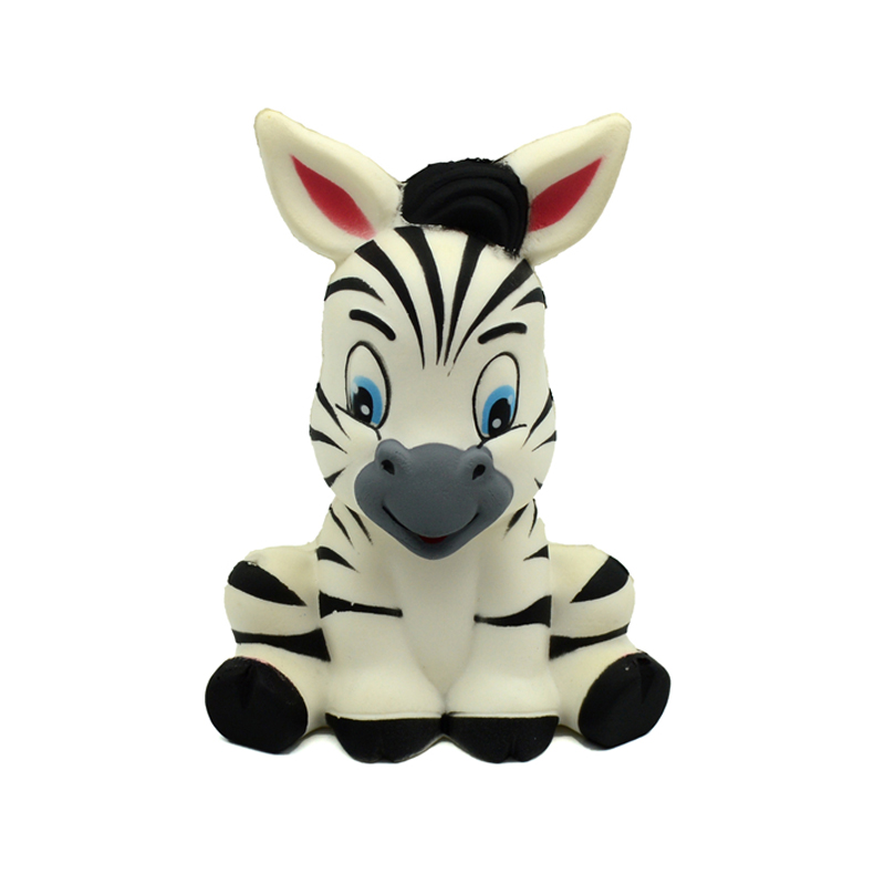Squishy Antistress Animal Zebra Squish Slow Rising Soft Scented Toy Collection Simulation Horse Squeeze Stress Reliever Toys