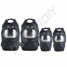 4pcs/set Adult Tactical Combat Protective Pad Set Gear Sports Military Knee Elbow Protector Elbow & Knee Pads H15