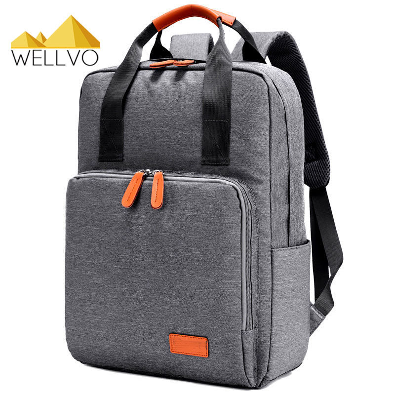 Laptop Backpack Men Canvas Notebook Backpacks Teenage Boys Girls School Bag Large Capacity Travel Bags Students Rucksack XA1967C oxford bag korean version of the female students shoulder bag large capacity backpack canvas backpacks