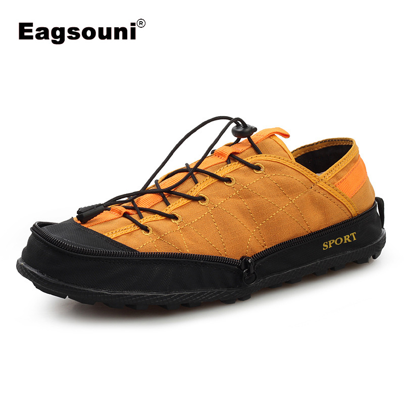 2019 New Men Casual Portable Ultra-Light Wallet Shoes Couple Fashion Folding Canvas Shoes Male Outdoor Zapatilla Shoes For Man