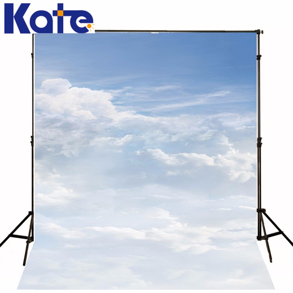 Kate 10x10ft Scenic Nuture Photo Background Clouds Sky And White Clouds Photography Backdrops Children Washable Backdrop 3501 Lk kate 10x10ft flag day photography backdrops with stars wood american flag photography background children photocall bodas fondo