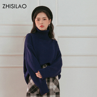 ZHISILAO 6 Colors 2017 Women Winter Sweaters Woman Turtleneck Pull Hiver Femme Cashmere Knitted Sweater Pullover
