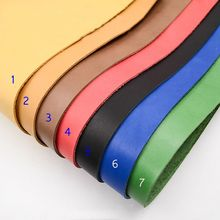 first layer cowhide leather thick genuine about  2mm good for carving 7 color choice