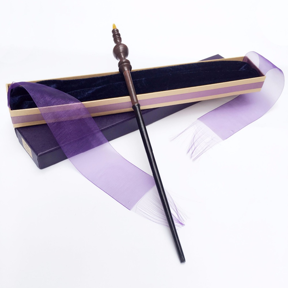 New Arrive Metal Iron Core Minerva McGonagall Wand  HP Magic Magical Wand  Elegant Ribbon Gift Box Packing