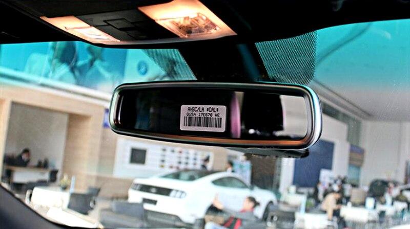 Console interior cromado telhado espelho retrovisor capa quadro console interior cromado telhado espelho retrovisor capa quadro para ford explorer 2016 2017 2018 fandeluxe Image collections
