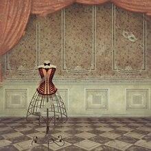 cortinas habitación RETRO VINTAGE