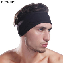 DICHSKI 1 PCS Men Women Unisex Fashion Winter Warm Fleece Headband Earband Stretchy Headband Earmuffs Ear Warmers Headdress