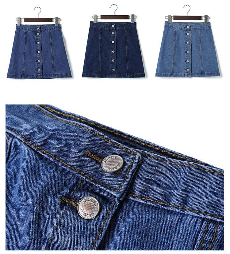HTB1kH sQFXXXXXiaXXXq6xXFXXXT - FREE SHIPPING Women High Waist Retro Denim Skirt JKP275