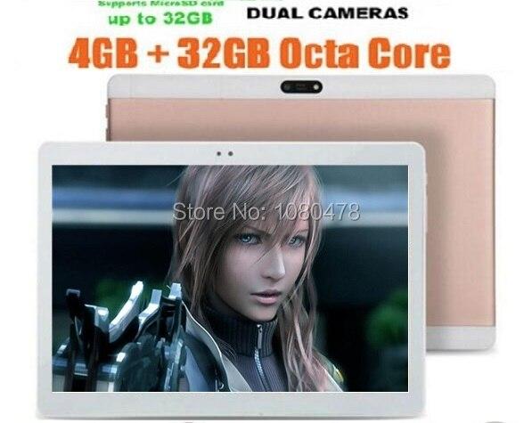 10 inch Tablet Octa Core MTK8752 Android 5.1 1280x800 IPS 4GB RAM 32G ROM Dual SIM Card Pad WiFi Bluetooth GPS Tablets
