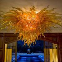 2016 new design lighting large luxury gold color glass Chandelier Lighting|chandelier lighting|chandelier lighting design|designer chandelier lighting -