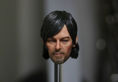 Norman Reedus 1/6 Male Head Sculpts Model Toys Without Neck For 12 Action Figure Body Toys Accessory 1 6 scale male head sculpts model toys downey jr iron man 3 captain america civil war tony with neck sets mk45 model collecti f