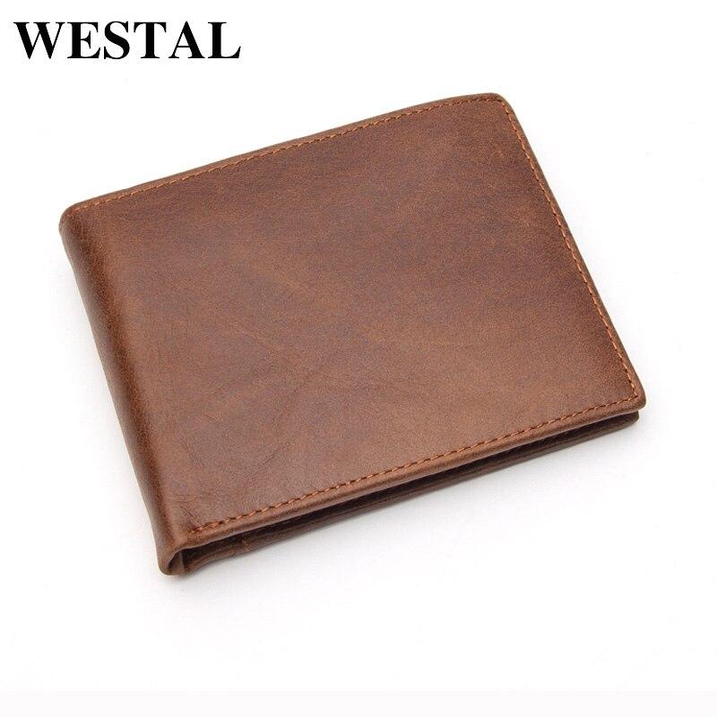 WESTAL New Designer Genuine Leather Men s