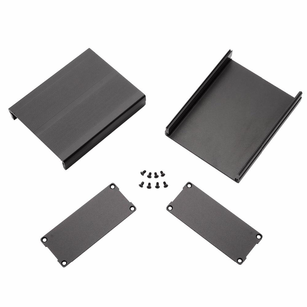 120*97*40mm Split Body Extruded Aluminum Box Enclosure Case Project Electronic