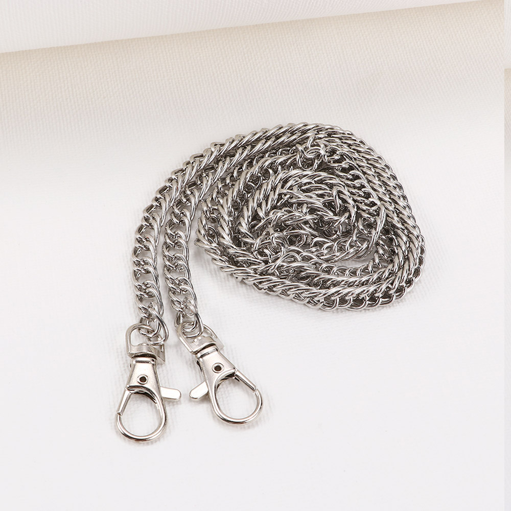 1Pc Metal Chain for Shoulder Strap Bags Handbag Buckle Purse Handle DIY Belt Accessories Replacement Chain Woman