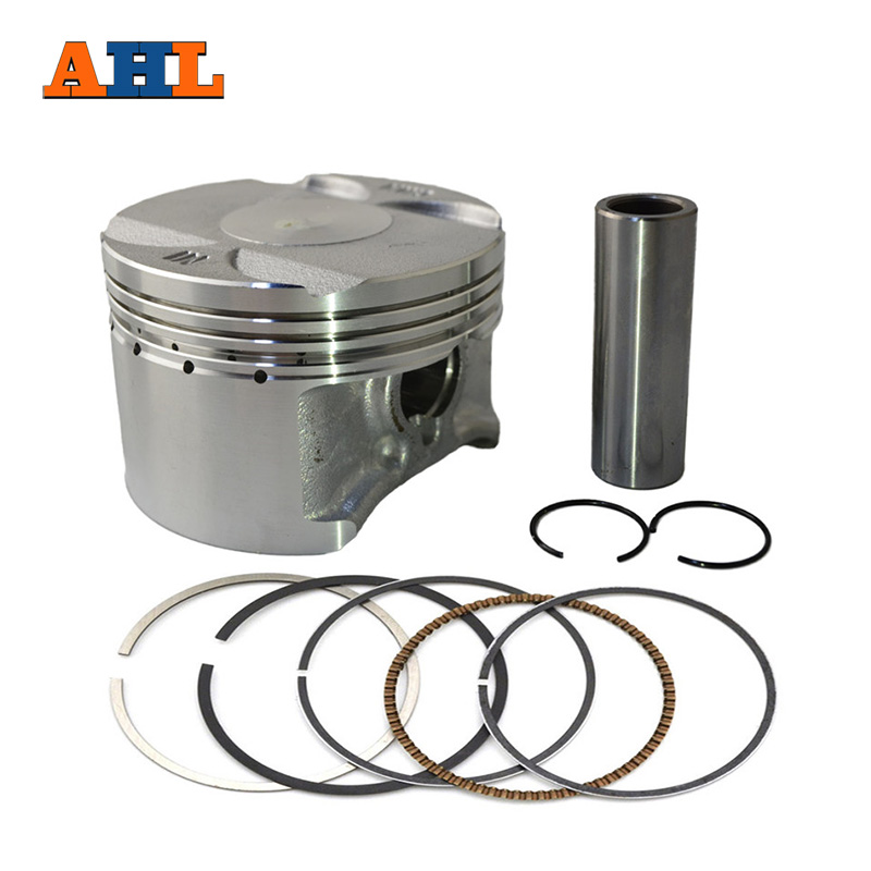 Motorcycle Engine Parts Std Cylinder Bore Size 55mm: AHL Bore Size 70mm Motorcycle Standard Piston &Piston Ring