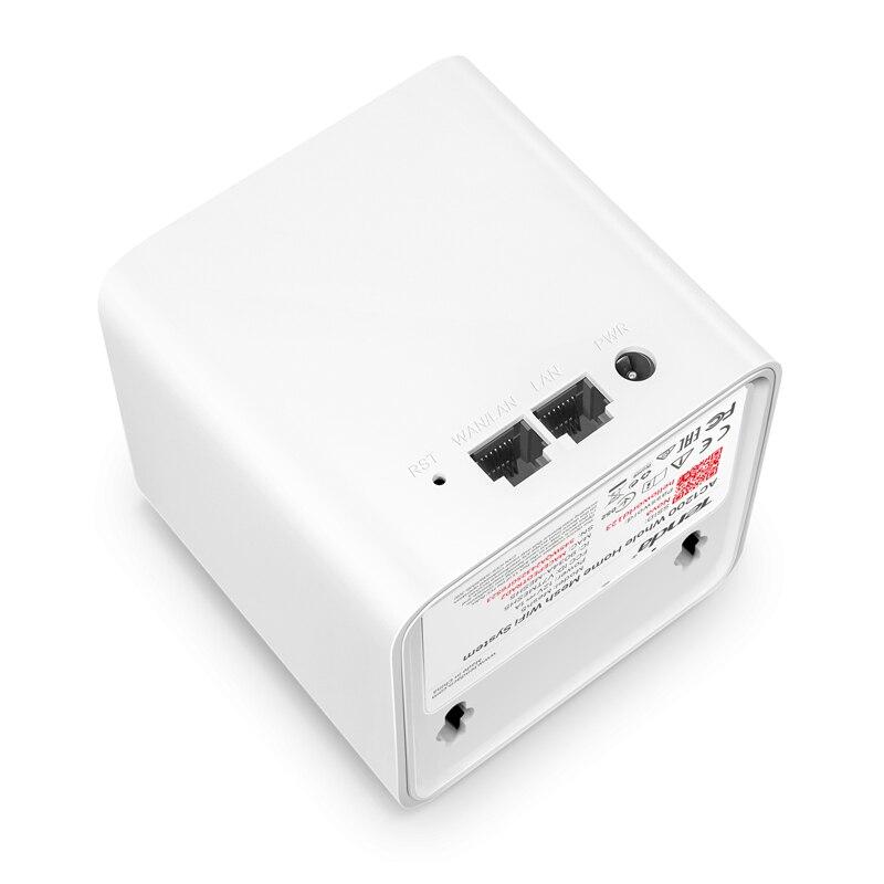 Tenda Nova MW5 Dans Toute La Maison Maille WiFi Gigabit Système avec AC1200 2.4G/5.0 GHz WiFi Routeur Sans Fil et répéteur, APP Gérer À Distance - 3