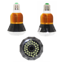 Home Bulb Lamp MINI IP Camera Wifi Micro SD CCTV Security Wifi Camera HD 1080P Wireless