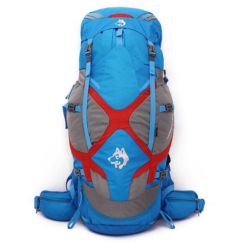 JUNGLE KING Camping Backpack Mountaineering Bag Waterproof Sports Backpacks 65L Outdoor Travel Men Women Hiking