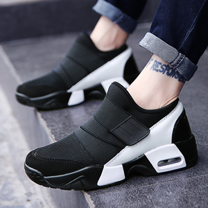 Image 4 - New Unisex Casual Shoe Air Breathable Casual Fashion Krasovki boty calcados obuv Tenisky Flats Height Increasing shoes men