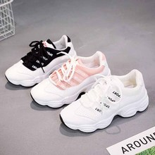Aidenkid 2019 new ladies casual sports shoes summer mesh breathable white fashion wild