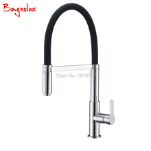 Sink Faucet Kitchen-Bar Commercial Brushed Nickel Pull-Down Cold Hot Chrome And Or