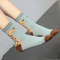 2017 Women Winter Socks Animal Cotton Middle Socks Fashion Socks 25 Pairs