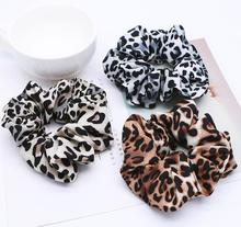 2019 new women elastic hair bands leopard print rubber  ponytail accessories Girls ring Headwear snake rope