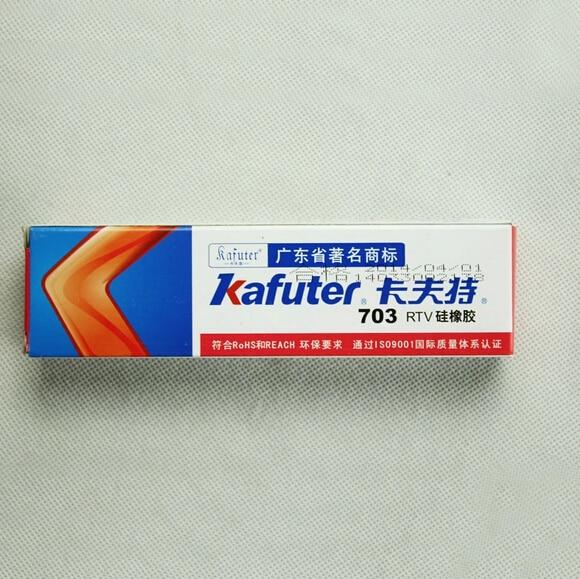 5pcs Kafuter K-703 RTV silicone sealant Single-component waterproof glue Silicone Rubber Adhesive Sealant