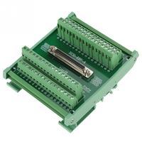 SCSI68 68 pin DB Type Female Connector Breakout Board Terminal Module For PLC/DIN Rail Installation