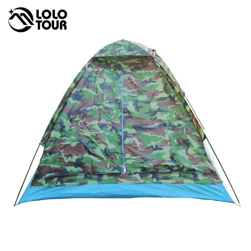 200 * 140 * 110 cm Outdoor Tragbare Single Layer carpas camping Zelt - Camping und Wandern - Foto 4