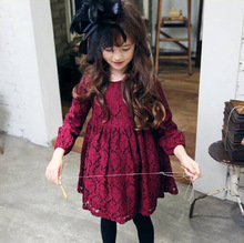 Girls Dress 2019 new Spring Autumn baby clothes Cotton Long Sleeve dress 2-3-4-5-6-7 years Baby Girl Clothes цены