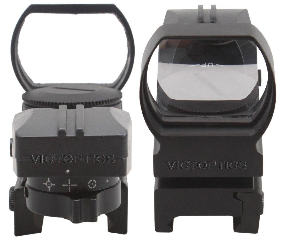 Victoptics 1x23x34 riflescope reflexo visão aberta ponto