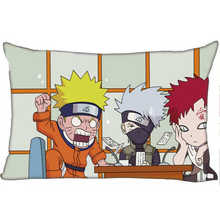 Best Custom Pillow Case Naruto (1)@1 Bedroom Home Rectangle zipper Pillowcases (One Side) @1205-05-06-289(China)