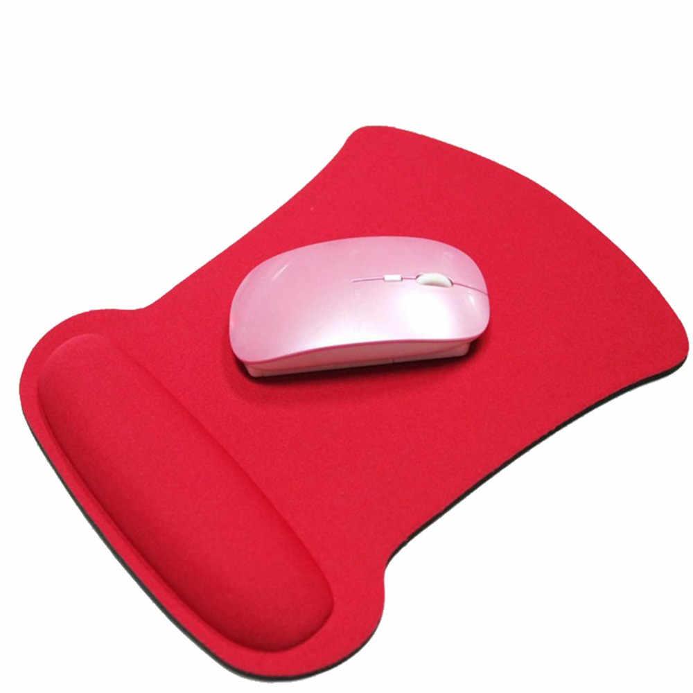 Almofada da esteira do rato do jogo do apoio do descanso do pulso do gel para o computador portátil do computador pc anti deslizamento dropship nov.5