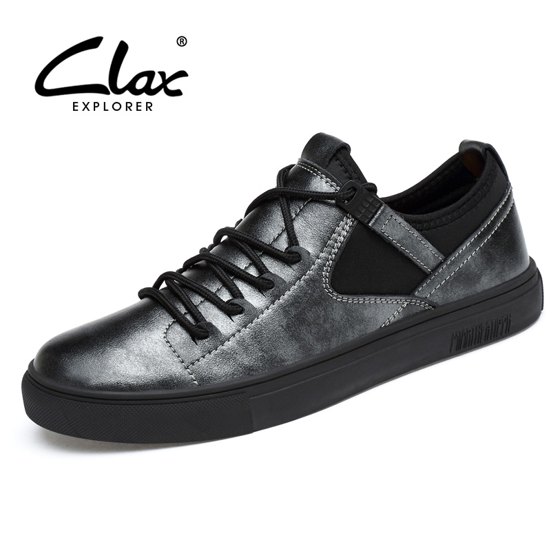 CLAX Mens Casual Shoes Spring Summer Autumn  Fashion Shoe Male British Walking Footwear Leisure Shoe Soft Breathable vikeduo brand 2017 fashion top real leather hollow breathable men shoes leisure casual lace shoes summer spring white footwear