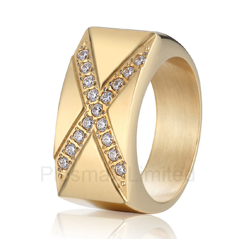 Anel Titanium jewelry Proudly made in China custom male and female promise wedding rings for couples