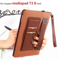 For huawei mediapad T3 case protective cover 8 inch tablet leather case all inclusive anti drop protective shell T3 8 cases