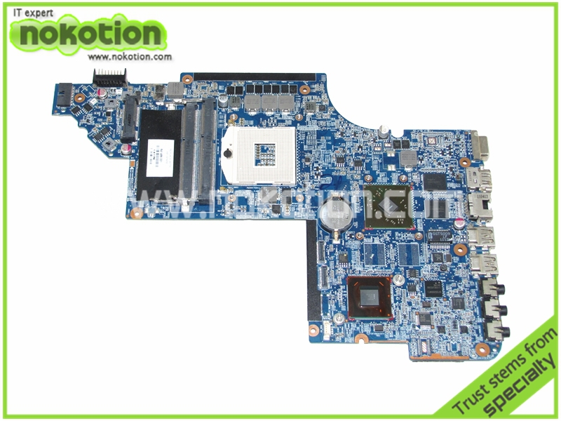 все цены на NOKOTION 641486-001 Laptop motherboard for HP DV6 DV6-6000 intel HM65 7470M Graphics Mainboard full tested онлайн