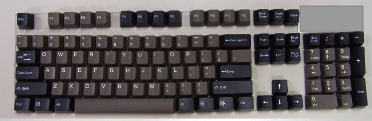 Mechanical keyboard retro keycaps Cheese 104 keycaps Taihao double shot ABS Granite Dolch keycap OEM-in Keyboards from Computer & Office    2