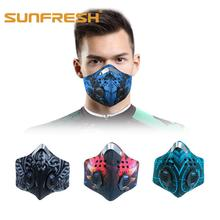 Anti-Pollution Activated Carbon dust Mask MTB Road Bike Bicycle Half Face Dustproof Cycling Riding Running Sports