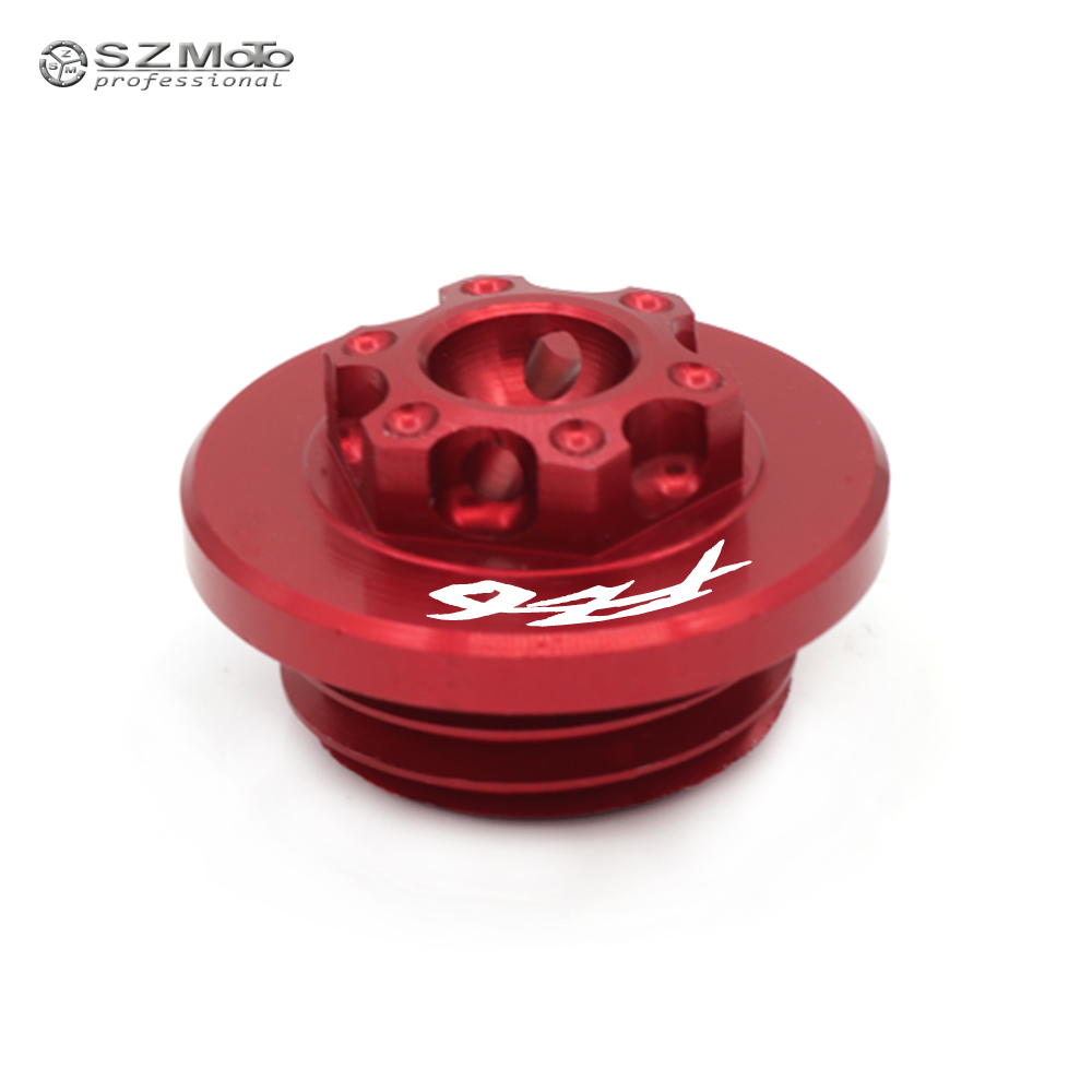 Engine Oil Filler Screw Cap For <font><b>YAMAHA</b></font> FZ-6R FZ-6 N/S FZ 6S 6N 6R FZ6S <font><b>FZ6N</b></font> FZ6R 2004-2017 2016 BMotorcycle <font><b>Accessories</b></font> image