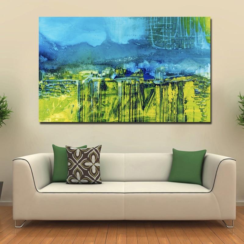 US $9.25 15% di SCONTO|1 PZ Famoso Paesaggio Astratto Su Tela Dipinto HD  Quadri Moderni Parete Per Soggiorno Home Decor Immagini Modulari Cuadros ...