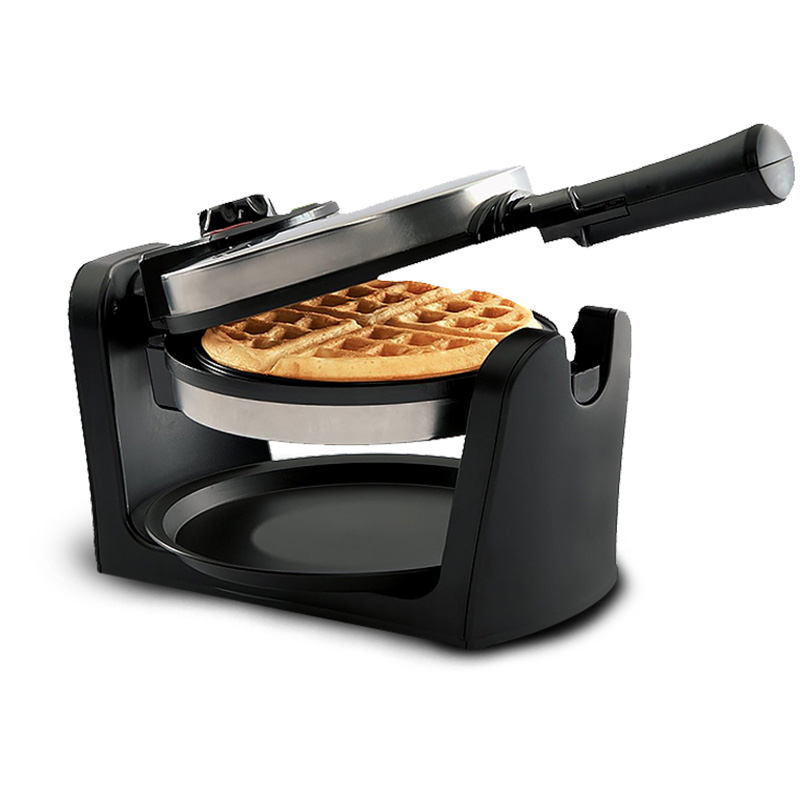 Kitchen Flip Household Waffle Maker Automatic Muffin Maker Waffle Mold Furnace Electric Baking Pan plastic toy car component mold maker