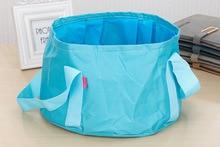 Oxford outdoor portable folding bucket basin fishing trip portable basin
