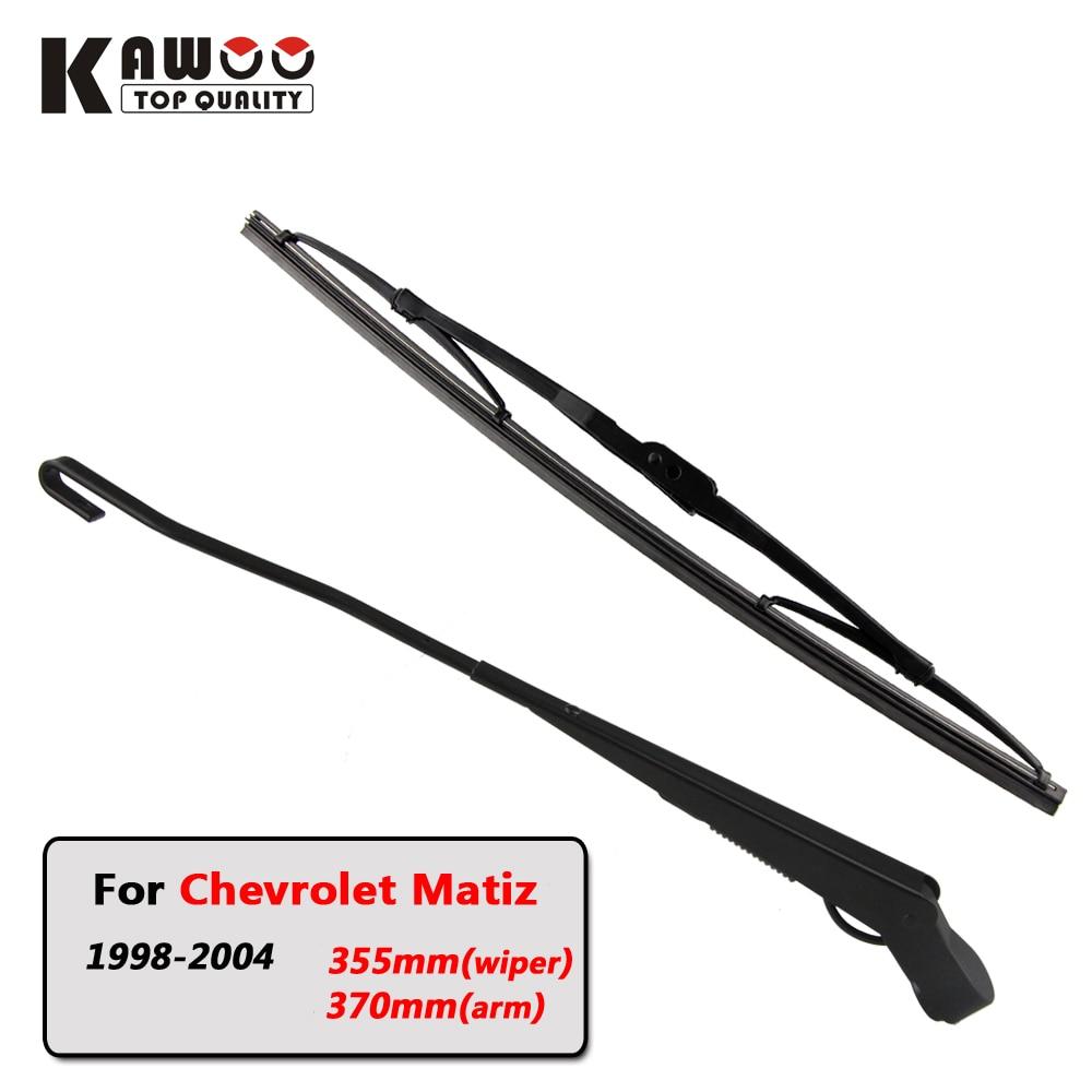 Kawoo car rear wiper blade blades back window wipers arm for chevrolet matiz hatchback 1998
