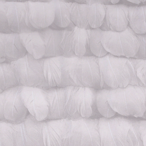 ФОТО Non-woven Wallpaper 3D Feather Background Korea Realistic Backdrop Wall Papers Roll  Kids Home Decoration 53cm